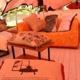 The Maiwar Green tent, complete with pillow fight stories