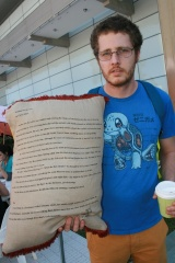 Pillow fight author - Chris White
